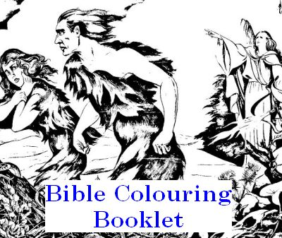 Free Bible Colouring Booklet