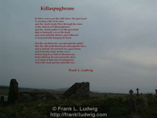 1 - Killaspugbrone Poem
