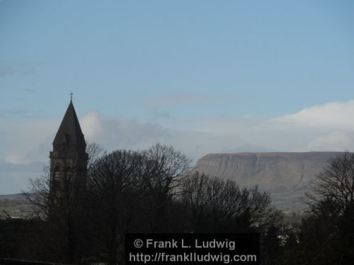 Benbulben and Cathedral