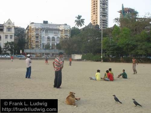 Chowpatty Beach, Bombay, Mumbai, India