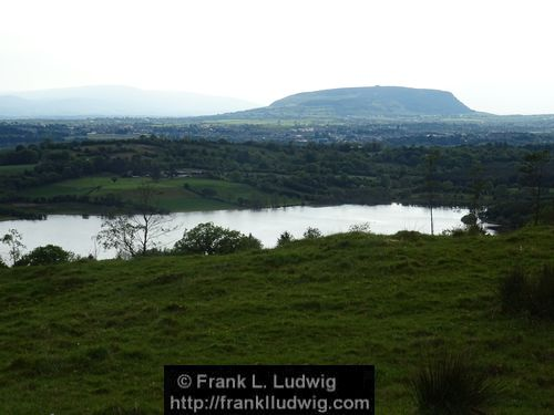 Colgagh Lough and Knocknarea from Deer Park