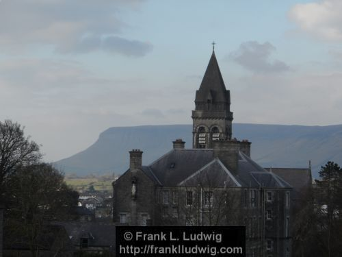 Sligo Cathedral and Benbulben