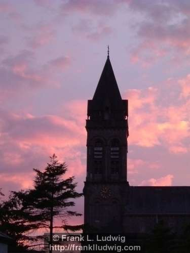 Sligo Cathedral at Sunset