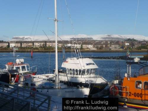 Sligo Harbour in Winter