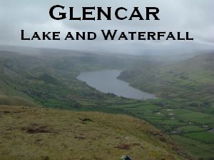 Glencar Lake and Waterfall
