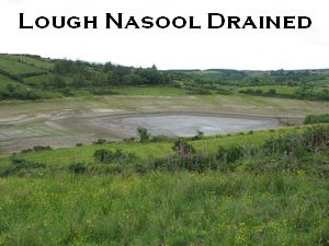 Lough Nasool 2006 (drained)