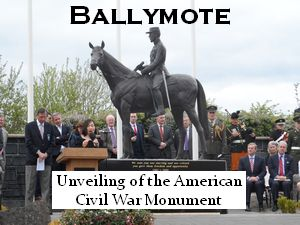 Unveiling of American Civil War Monument in Ballymote
